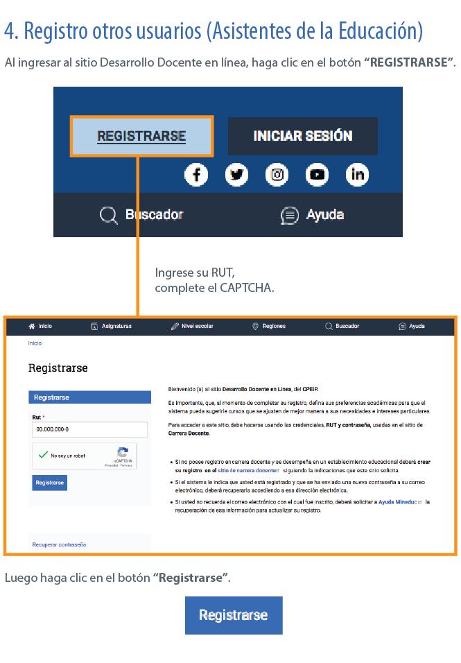 Manual De Usuario  Registro E Inicio Sesi U00f3n
